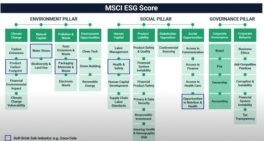 Sostenibilidad resiliencia parámetros ESG