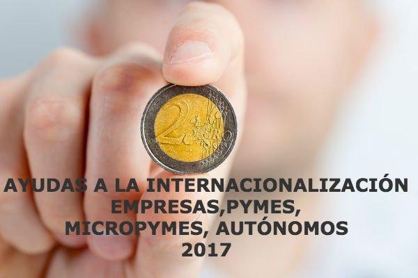 ayudas a la internacionalización