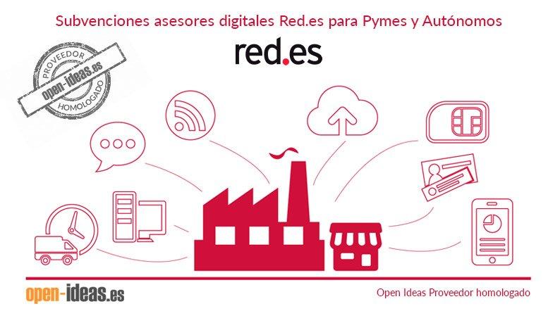 Subvenciones Asesores Digitales Red.es