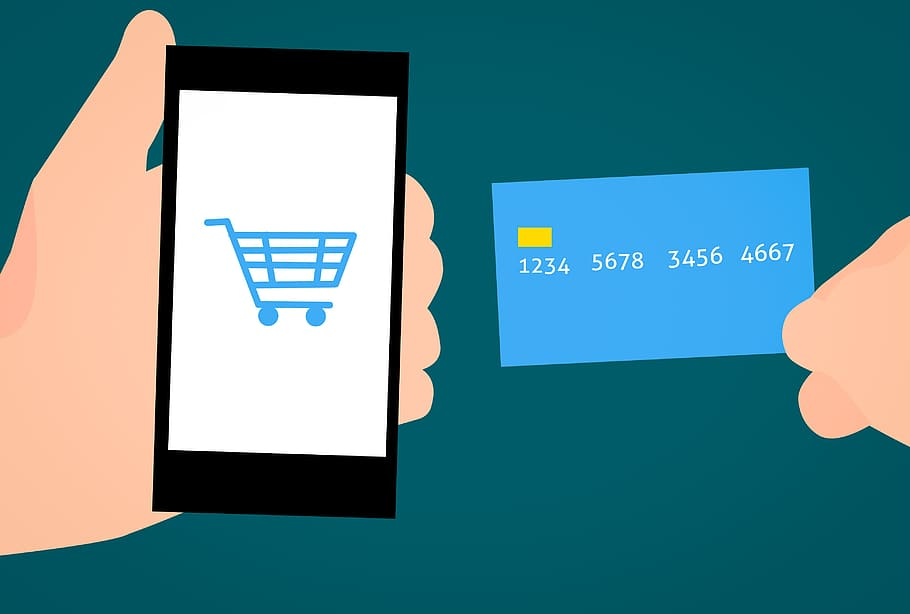 ecommerce application buy card