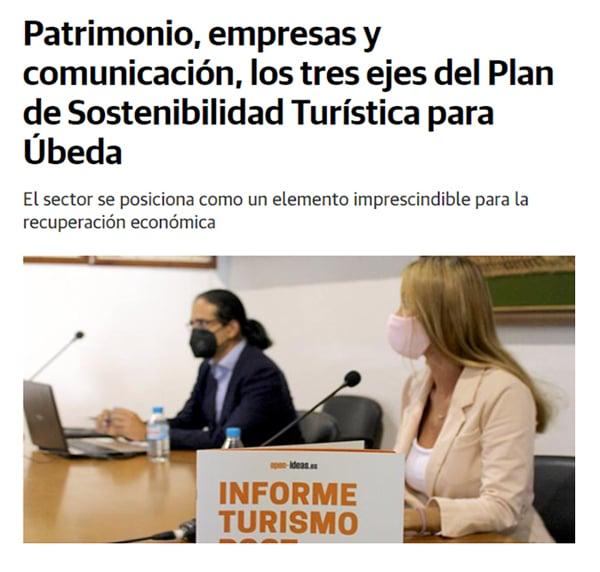 Plan de Sostenibilidad Turística de Úbeda