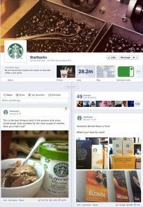 starbucks page
